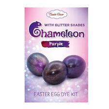 NEW Easter Egg Dye Kit, Chameleon Purple Glitter Effects Amazing Egg Decorating
