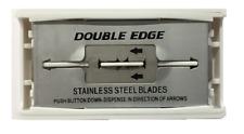 Stainless Steel Generic Double Edge Razor Blades, Fits Safety Razors - 10 Blades
