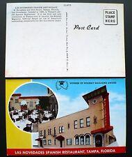 1950s Las Novedades Spanish Restaurant, Tampa FL