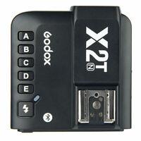 Godox X2T-N 2.4G TTL Wireless HSS Bluetooth Trigger Transmitter for Nikon