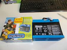 BATTERIA 12 VOLT 8 AMPERE PEG PEREGO ORIGINALE + caricabatterie 12 volt