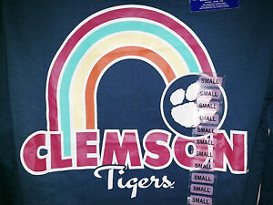 Womens Champion Clemson Tigers Long Sleeve T-Shirt New NWT Size Small S