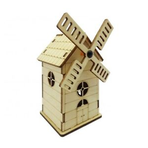 House Shape 3D Ply Wood -craft build it  DIY Music Box for Kids build