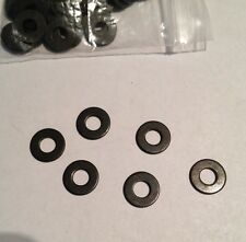 USA Tattoo Machine 10 #8 Black Steel Washers, Binder Parts US Seller