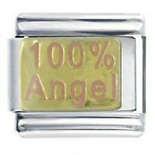100% Angel figlia DAISY CHARMS da JSC accoppiamenti Classic Taglia Italiana Bracciale con Charm