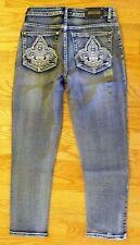 Tru Luxe Toronto Light Mid Rise Skinny Crop Jeans Size 2/26 $120 Value!-CL0293