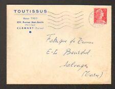 "CLAMART (92) TISSUS ""TOUTISSUS / Maison THEO"" en 1956"