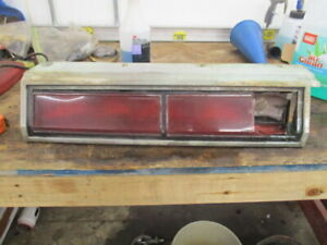 79 buick regal LH LEFT DRIVERS side tail light 1979 OEM USED PARTS TAILLIGHT V8