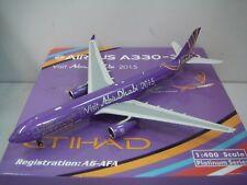 "Phoenix 400 Etihad Airways A330-300 ""Visit Abu Dhabi 2011 color"" 1:400"