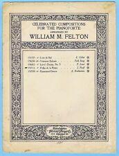 POLKA DE LA REINE (CAPRICE) OPUS 95 by RAFF (1924)