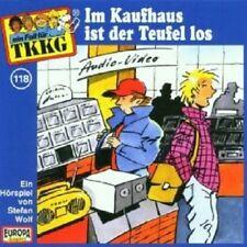 "TKKG ""IM KAUFHAUS IST DER TEUFEL LOS (FOLGE 118)"" CD HÖRBUCH NEW"
