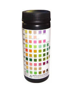 Urine Dipstick 11 Parameter Urinalysis Reagent Test Strips (100)