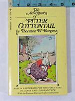 Vintage The Adventures Peter Cottentail Thornton Burgess Paperback