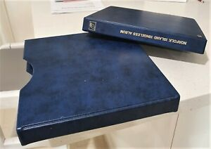 Norfolk Island Seven Seas Album in beautiful slip cover.