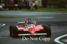 Gilles Villeneuve Ferrari Argentine GP 1981 Photograph