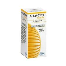NEW BRANDED Accu-Chek-Softclix-Lancet  EACH PACK 25 PICESS