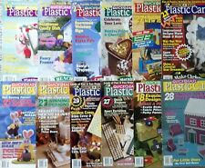 Plastic Canvas Patterns Quick & Easy Magazine *You Choose