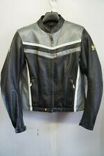 WOMAN'S BELSTAFF LEATHER MOTORCYCLE ARMOUR JACKET SIZE small 14 or 12
