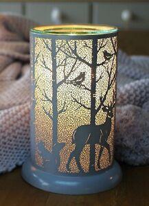 Wax Burner - Woodland Grey Owlchemy Electric wax burner with light & dimmer