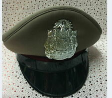 NEW Royal Thai Police Officer Cap Colonel Uniform HAT Militaria Original Item