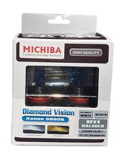 Michiba H11 12v 55w 5000K Bombillas de visión de Diamante (Blanco)