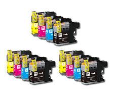 12 PK Printer Ink Set + Chip for Brother LC203 MFC-J460DW MFC-J480DW MFC-J485DW