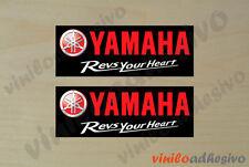 PEGATINA STICKER VINILO Yamaha Revs Your Heart autocollant aufkleber adesivi