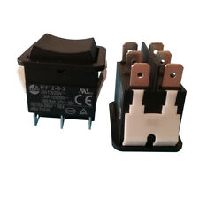 KEDU HY12-9-3 6 Pines Industrial Interruptor Eléctrico 125V Pulsador Interruptores