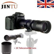 JINTU 420mm-800mm/1600mm f/8.3 Telephoto Lens for Nikon D3100 D3200 D3300 D3400
