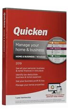 Quicken Home & Business 2019 1-year membership for WINDOWS Only