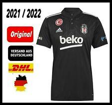 NEU 2021 / 2022 Original Besiktas Istanbul Trikot Adidas Schwarz Forma Türkiye