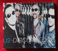 CD de musique pop rock digipack U2