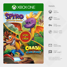 Spyro Reignited + Crash Bandicoot N. Sane Trilogy (Xbox One) - Digital Code [EU]