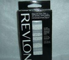 Revlon*Nail Art*3D Jewel Appliques~18 Denim & Diamonds~#07 Pretty In Punk~New