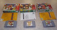 Mario Party 1 2 3 Nintendo 64 Trilogy bundle Boxed w/manuals Read for details
