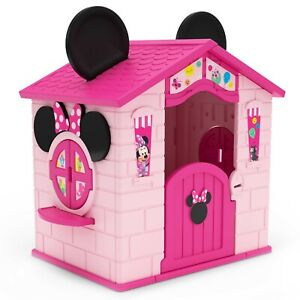 New Playhouse Plastic Disney Minnie Mouse Indoor/Outdoor Easy Assembly by Delta