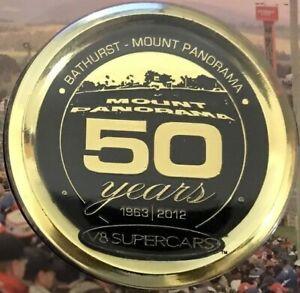 2012 BATHURST - MOUNT PANORAMA V8 SUPERCARS Limited Issue PNC/Souvenir Card