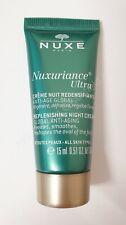 Nuxe Anti-Ageing Replenishing Night Cream 15ml - All Skin Types - New & Unused