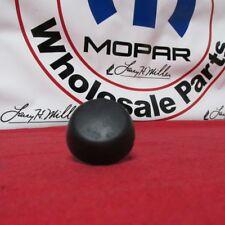 JEEP Wrangler Rubber hood bumper NEW OEM MOPAR
