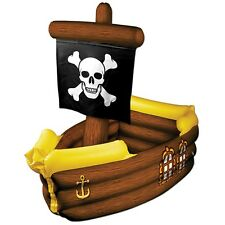 Inflatable Pirate Ship Cooler One Size