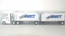 Tonkin Replicas 1/87 HO Freightliner Cascadia Day Cab Swift 28' Doubles Truck