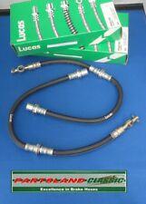Front Pair Hydraulic Flexi Brake Hoses Toyota Carina, Celica, Corolla LH3618