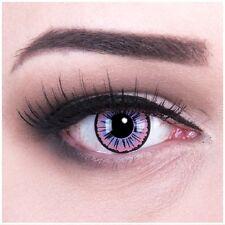 """Lenti a contatto colorate """"Purple Fee"""" Crazy Lenses GRATIS contenitore carnevale"""