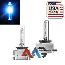 2x D3C D3R D3S 10000K Dark Blue HID Xenon Headlight OEM Philips Replacement Bulb