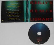 R. Kelly - Remix Library - original 1998 U.S. promo cd