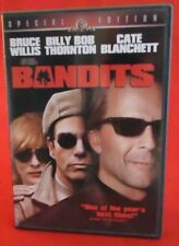 Bandits DVD, 2002, Special Edition Bruce Willis, Billy Bob Thornton