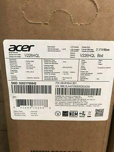 "Acer UM.WV6AA.B01 V226HQL Abmd 21.5"" Full HD Widescreen LED Monitor"