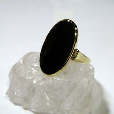 333/8k Antique Ring Women's Ring Onyx in 56 (17,8 mm Ø) Yellow Gold