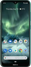 Nokia 7.2 64gb 4gb di RAM VERDE ANDROID SMARTPHONE DUAL SIM 48mp Zeiss LTE NUOVO OVP