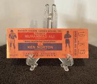 BOXING Muhammad Ali vs Ken Norton Yankee Stadium 9-28-1976 Full Ticket